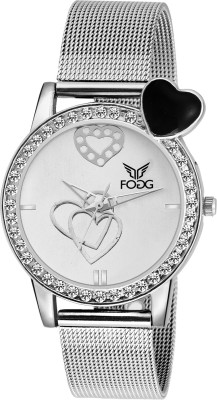 Fogg 4039-BK Modish Analog Watch For Women