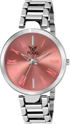 Fogg 4049-PK Elegant Analog Watch For Women