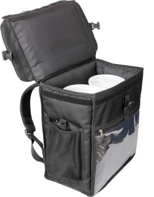 e189de431c6 21% OFF on triage Prime Insulated Meal Delivery Bag (Black) 45 L Backpack(Black)  on Flipkart   PaisaWapas.com