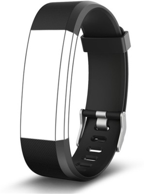 Omnix 115 PLUS HR REPLACEMENT STRAP FOR Fitness Band(Black, Pack of 1)