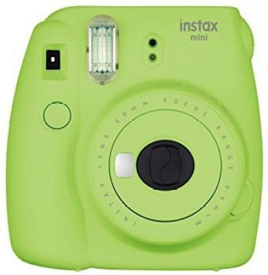 View Fujifilm Instax Mini 9 Lime Green Instant Camera(Green)  Price Online