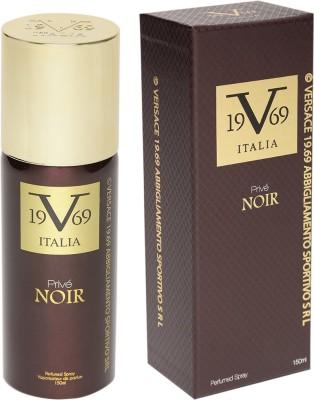 Versace Italia 19.69 Prive NOIR Perfumed Spray Eau de Parfum  -  150 ml(For Men & Women)