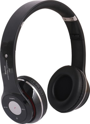 REJUVENATE S460 WIRED & WIRELESS WITH TF CARD SUPPORT Wired, Bluetooth Headset with Mic(Black, Over the Ear) 1