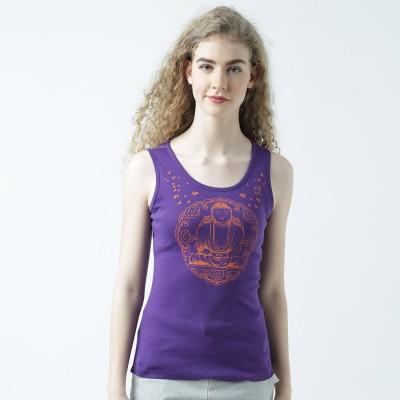 Huetrap Casual Sleeveless Printed Women