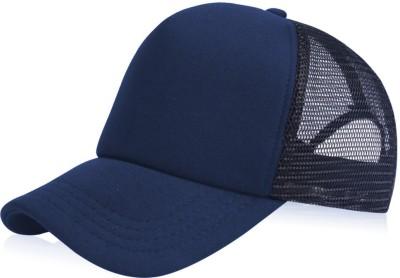 ODDEVEN Solid Baseball Cap, Basic Cap, Denim Cap, Jeans Caps Cap
