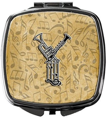 Caroline's Treasures CJ2004-YSCM Letter Y Musical Instrument Alphabet Compact Mirror  available at flipkart for Rs.3387