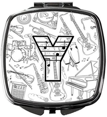 Caroline's Treasures CJ2007-YSCM Letter Y Musical Note Letters Compact Mirror  available at flipkart for Rs.3387