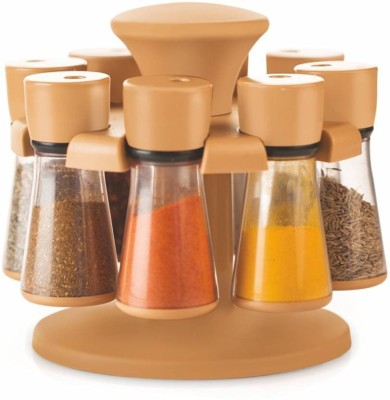 Wud Kraft 8 pcs masala rack 8 Piece Spice Set