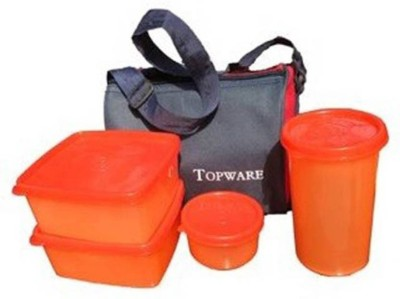 Expertservice Consultancy ESC TOPWARE ORANGE LUNCH BOX 4 Containers Lunch Box 1000 ml