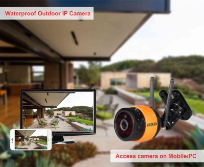 D3D Wireless 960P HD Outdoor Waterproof IP Wifi CCTV Outdoor Security Camera (Support upto 64 GB Micro SD card) Model:D8016P Wireless Sensor Security System  available at flipkart for Rs.8500