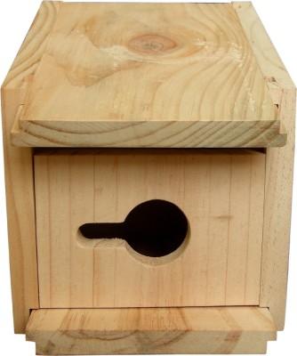 Birdhousebuilder House Sparrow Bird House Bird House(Wall Mounting, Tree Mounting, Free Standing)