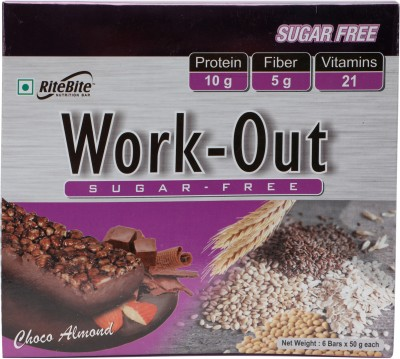 RiteBite Work-Out Choco Almond(300 g, Box)