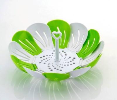 SM Multipurpose Foldable Plastic Fruit & Vegetable Basket(Multicolor)  available at flipkart for Rs.99