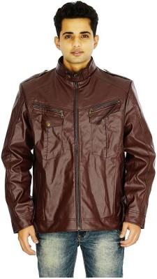 Maskino Full Sleeve Solid Men Jacket
