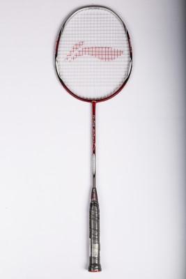 Li Ning G TEK 88 MUSCLE II Red Strung Badminton Racquet Pack of: 1, 89 g Li Ning Badminton Racquet