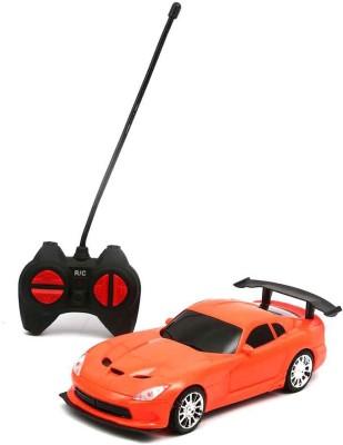 Hum Enterprise High Speed Racing Super Car, 4 Function R/C Car (Orange)(Orange)  available at flipkart for Rs.445