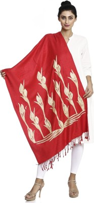 Asar Creations Woven Pashmina Muffler Stole Women Stole
