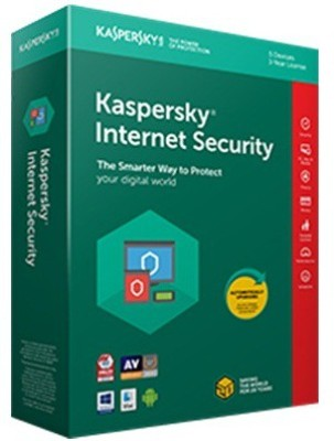 KASPERSKY Internet Security 2017 1 Pc 1 Year (1 Instalation cd ,365 days valid Serialkey)