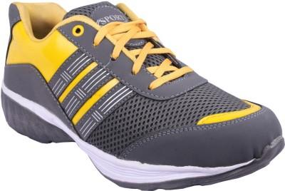 55cc21ed1 41% OFF on GLOBIA Sports Shoes Running Shoes For Men(Grey) on Flipkart |  PaisaWapas.com