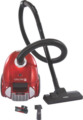 Eureka Forbes Trendy Zip + Dry Vacuum Cleaner(Red, Silver)