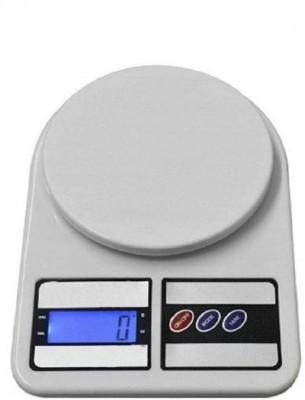 Sadarbazaarsales.Com SBS New Sf 400 7kg Weighing Scale(White)