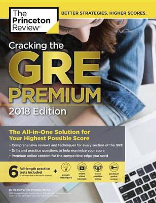 Cracking the GRE Premium