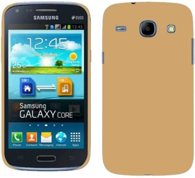 MV Back Cover for SAMSUNG Galaxy Core I8262(Gold, Grip Case)