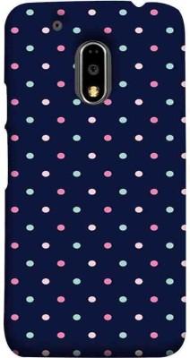 TAKKLOO Back Cover for Motorola Moto E3 Power(Blue, Plastic)