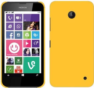 MV Back Cover for Nokia Lumia 530 Yellow, Grip Case