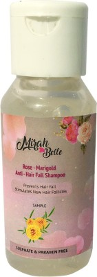 Mirah Belle Naturals Rose – Marigold Anti - Hair Fall Shampoo(60 ml)  available at flipkart for Rs.48