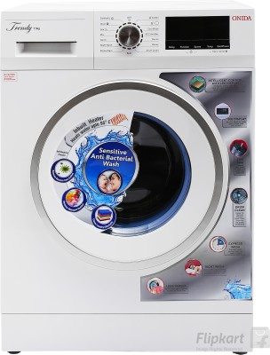 Onida 7.5 kg Fully Automatic Front Load Washing Machine White(F75TDWW) (Onida)  Buy Online