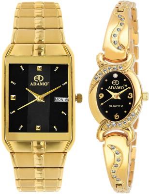 ADAMO 9151-2468YM02 Enchant Watch  - For Couple