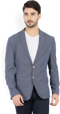 Peter England Woven Single Breasted Casual Men
