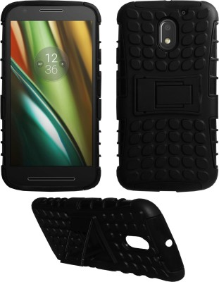 ACM Back Cover for Motorola Moto E3 Power(Black, Shock Proof)
