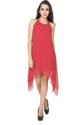 Patrorna Women Nighty(Red)