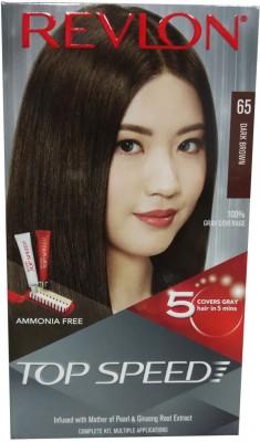 Revlon TOP SPEED 65 (Dark Brown) Hair Color(Dark Brown)