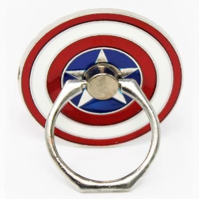Indian Petals Captain America Metal Mobile Holder Stand Ring Mobile Holder