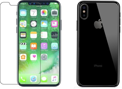 Craftech Front and Back Screen Guard for Apple iPhone X(Pack of 1)