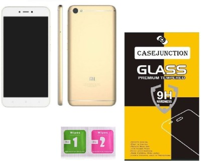 Caseline Tempered Glass Guard for Mi Redmi 5A, Mi Redmi Go(Pack of 1)