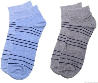 Polon Men's Ankle Length Socks(Pack of 2)