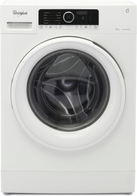 Whirlpool 7 kg Fully Automatic Front Load Washing Machine White(Supreme Care 7014) at flipkart