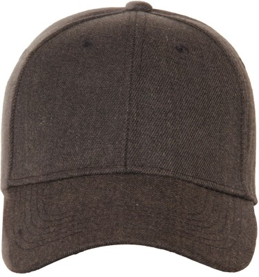 FabSeasons Solid Solid / Plain Cotton Unisex Free Size with Adjustable Buckle Baseball Summer Cap & Hat Cap