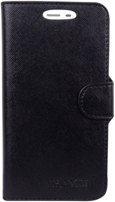 CHAMBU Flip Cover for Samsung Galaxy S4 mini Duos I9192(Black, Shock Proof, Artificial Leather)