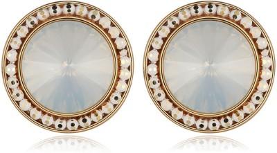 Jewels Galaxy Luxuria Earrings Cubic Zirconia, Crystal Alloy Stud Earring
