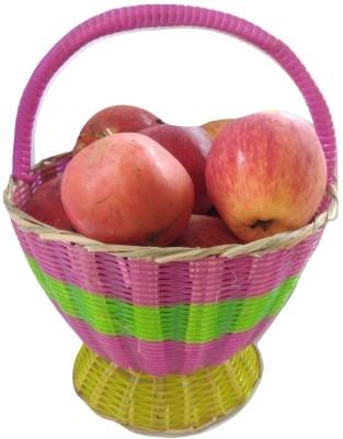 advancedestore Plastic, Wooden Fruit & Vegetable Basket(Multicolor)  available at flipkart for Rs.185