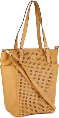 Lavie Women Yellow Tote at flipkart