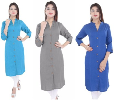 Soch Casual Solid Women