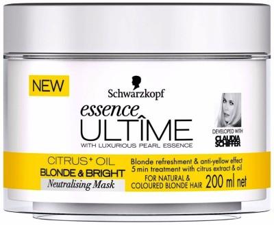 Schwarzkopf essence Ultime Citrus+Oil Blonde & Bright Neutralising Mask(200 ml)