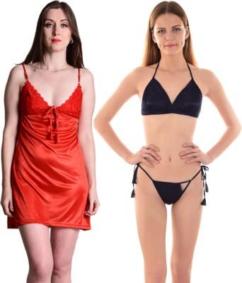 75b4bdd98 44% OFF on TUCUTE Women Cotton Premium Nighty Nightwear Nightdress ...
