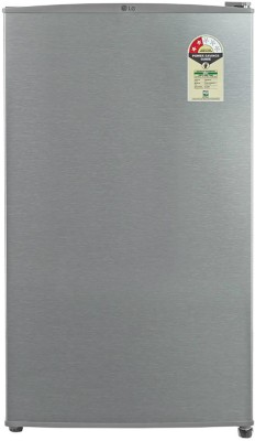 LG 92 L Direct Cool Single Door 2 Star Refrigerator(Dazzle Steel, GL-B131RDSV)  available at flipkart for Rs.10499